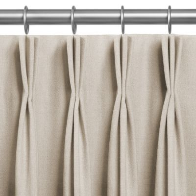 Custom Made French Pleat Curtains