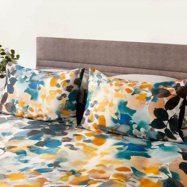 Amber Duvet Set & Bedding - Close Up - Pillows