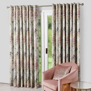 Eden Dove Eyelet Curtain